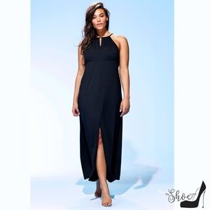 High-neck Keyhole Swim Cover Up